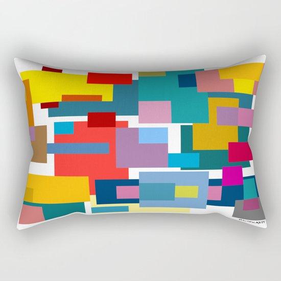 Color Blocks #4 Rectangular Pillow