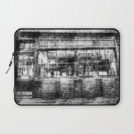 Ye Old Shambles Tavern York Vintage Laptop Sleeve