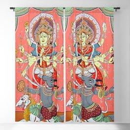 Hindu Durga 5 Blackout Curtain