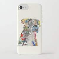 mod iPhone & iPod Cases featuring the mod boxer by bri.buckley