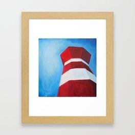 Hilton Head Island Lighthouse Framed Art Print