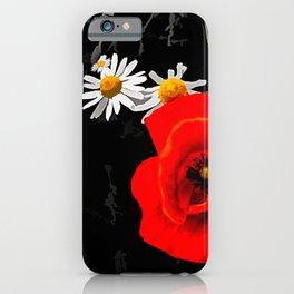 Summer flowers POPPIES, DAIRIES, CORNFLOWERS #1 iPhone Case