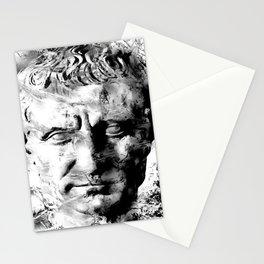 JULIUS CAESAR (BLACK & WHITE VERSION) Stationery Cards