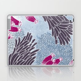 The Great Blue Coral Reef Laptop & iPad Skin