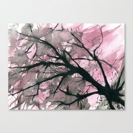 Atomic Blossom Canvas Print