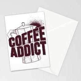 Coffee Addict Stationery Cards