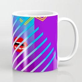 Peeking through blinds Coffee Mug