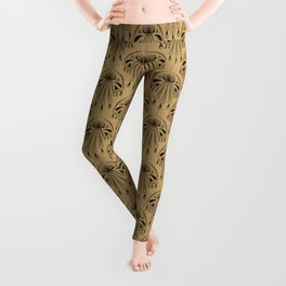 Abstraction. The medallion. Leggings