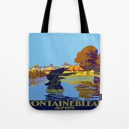 Vintage poster - Fontainebleau Tote Bag