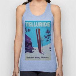 Telluride - Colorado's Rocky Mountains Unisex Tank Top