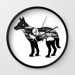 DINGO FROM DOWN UNDER Wall Clock