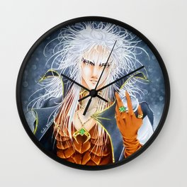 Jareth, the Goblin King, by Suki Manga Art Wall Clock