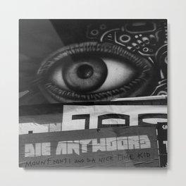 The eye sees all Metal Print