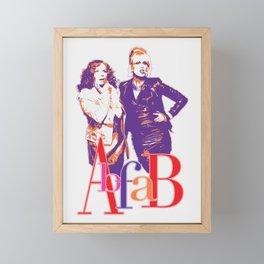 AbFab Framed Mini Art Print