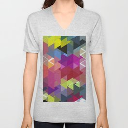 Triangle No. 2 Unisex V-Neck
