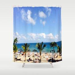 FT, Lauderdale Shower Curtain