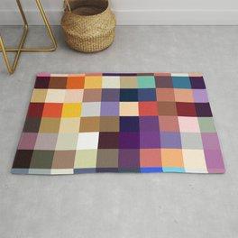 Kelpie - Multicolor Pixel Pattern Rug