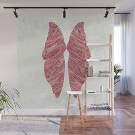 Abstract Butterfly Wings Design Wall Mural