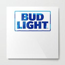 Bud Light Official Logo T-shirt Metal Print