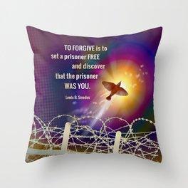 Set Free Throw Pillow