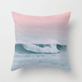 Pale ocean Throw Pillow