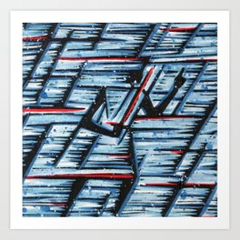Orixás - Ogum Art Print