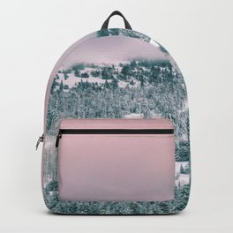 Blush Sky in Woodland Heights Backpack
