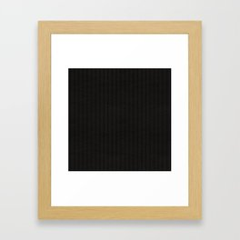 Antiallergenic Hand Knitted Black Wool Pattern - Mix & Match with Simplicty of life Framed Art Print