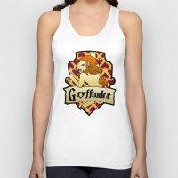gryffindor Tank Tops featuring Gryffindor Crest by AriesNamarie