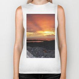 Sunset on the Rocks Biker Tank