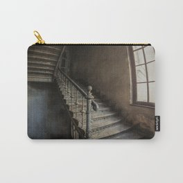 Old forgotten twisted staircase Carry-All Pouch