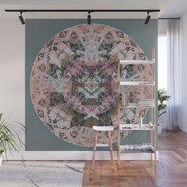 Heart Meditation Mandala Wall Mural