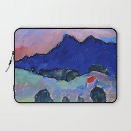 Alexej von Jawlensky - Blauer Berg - Blue Mountain Laptop Sleeve