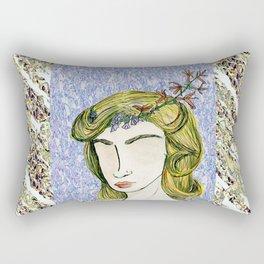 Distinction in Solitude Rectangular Pillow