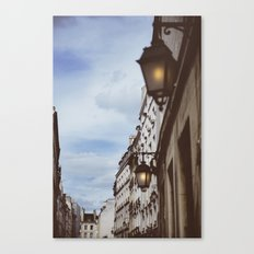 Lanterns & Streets of Paris Canvas Print