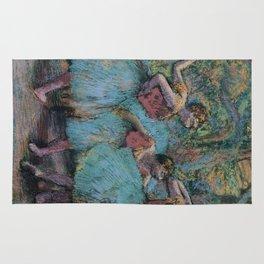 Edgar Degas - Three Dancers (Blue Tutus, Red Bodices) Rug