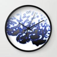 brain Wall Clocks featuring Brain by Temi Alli