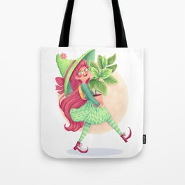 Plant witch Tote Bag