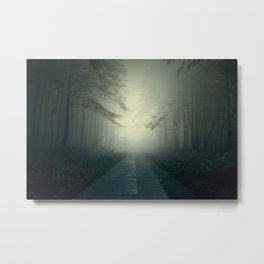 Foggy Stories Metal Print