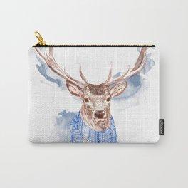 Winter Deer Carry-All Pouch