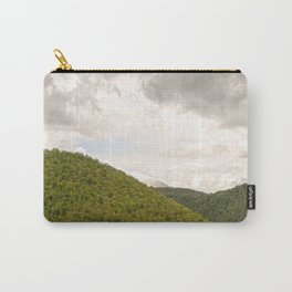 Dramatic summer mountain cloudscape Carry-All Pouch