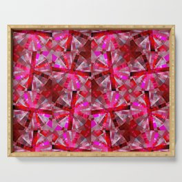 Ultimate Pink Pattern Serving Tray