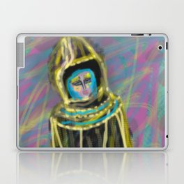 Woman in the color desert by Jana Sigüenza Laptop & iPad Skin