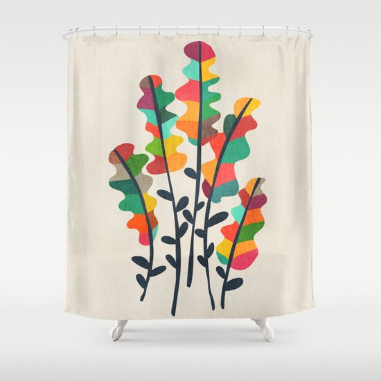 Flower from the meadow Shower Curtain