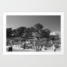 A Summers Day, Black&White Art Print