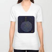 le petit prince V-neck T-shirts featuring LE PETIT PRINCE by Robotic Ewe