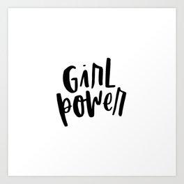 Girl Power 2 Art Print