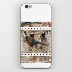 Pheasant Pillow Design iPhone & iPod Skin