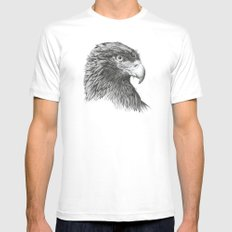 Golden Eagle Mens Fitted Tee MEDIUM White