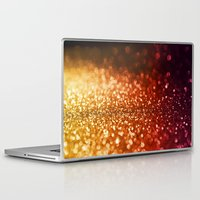 lesbian Laptop & iPad Skins featuring Fire and flames  by Better HOME